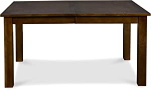 New Classic Furniture Aspen Standard Rectangular Dining Table, Burnished Cherry