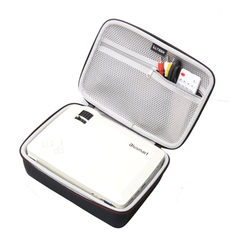 LTGEM EVA Hard Case for Blusmart LED-9400 Video Projector 2018 Upgraded +70% Brightness Portable Mini Projector - Travel Protective Carrying Storage Bag by LTGEM (Image #1)