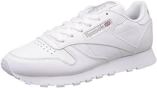 Reebok White Women Lthr au Shoes Fashion Cl g8Srqg