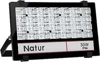 30W Foco LED Exterior Proyector,3000LM 6000K Blanco frío ...