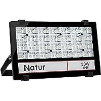 30W Foco LED Exterior Proyector ,3000LM 6000K Blanco frío ,Impermeable IP66 Foco Reflector industrial Iluminación Exterior para…