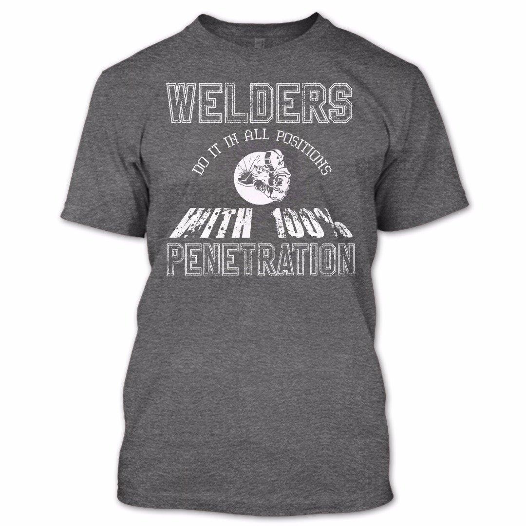Online Store 247 Welders Do It in All Positions T Shirt, Welders Shirt, Jobs Shirts
