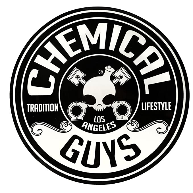 Amazon Com Chemical Guys Lab119 8 Circle Logo Sticker Automotive