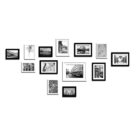 Lillyvale Large Multi Picture Photo Frame Frames Wall Set 13 Pieces