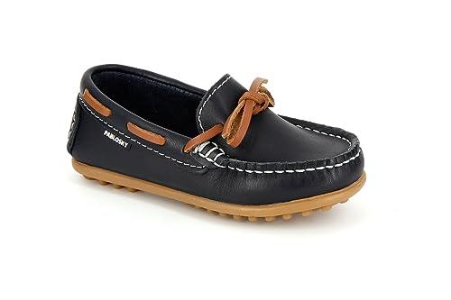 Pablosky 120420, Náuticos Niñas, Azul.Marino, 24 EU: Amazon.es: Zapatos y complementos
