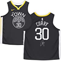 $489 » Stephen Curry Golden State Warriors Autographed Nike Gray Statement Edition Swingman Jersey…