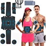 Abs Stimulator, iThrough Professional Muscle Toner for Men & Women - Losing Weight & Building Muscle - Portable Abs…