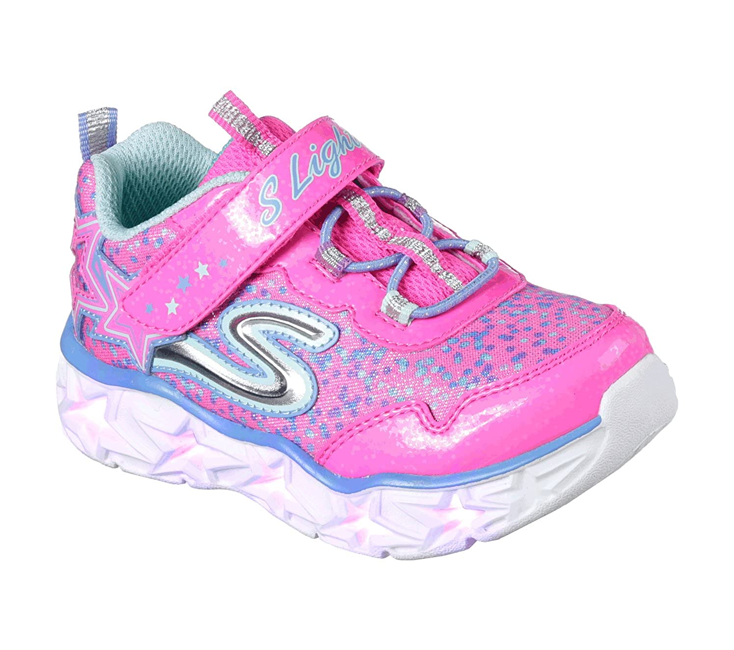 Skechers Galaxy Lights, Baskets Fille Fille Neon Baskets Neon Pink/Multi fcabf38 - piero.space