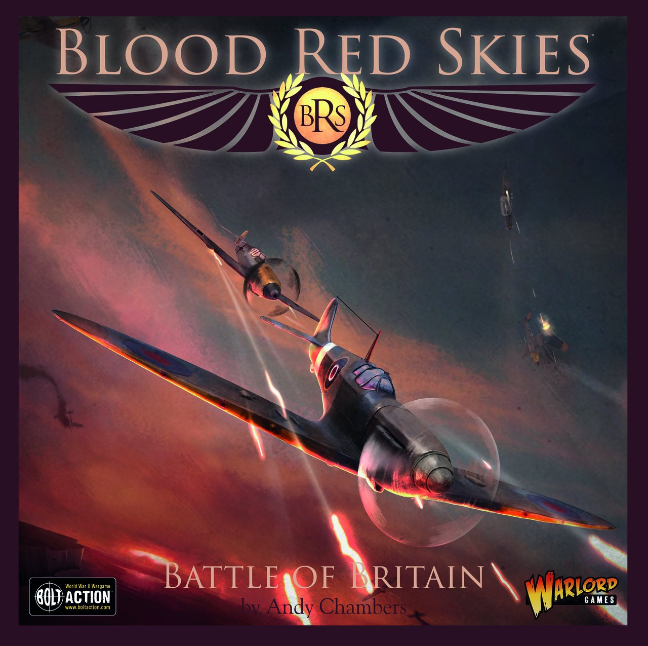 BOLT ACTION Warlord Games, Blood rosso Skies - Battle of Britain - Air Combat Game