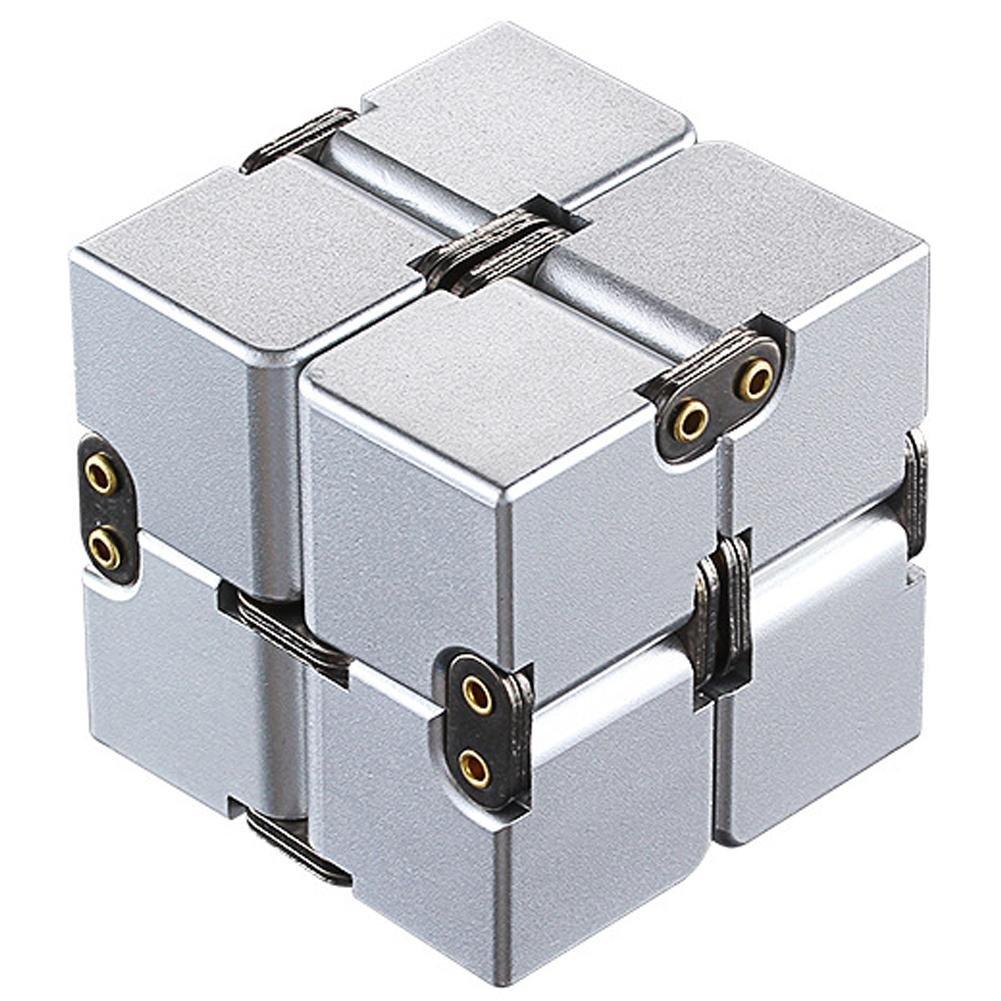Yunt Infinity Magic Cube EDC Jouet, Jouets réducteurs de Pression, Cube épineux, Tuer Le Temps Infini Cube Jouets réducteurs de Pression Cube épineux