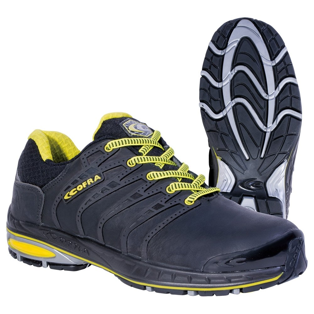 Cofra zapatos de seguridad foto acabado 19030-000 New grevinga S3 zapatos de colour negro, Negro, 19030-000 19030-000.W39