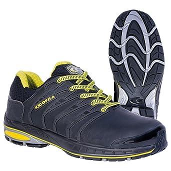 mejor mayorista Super baratas nueva colección Cofra zapatos de seguridad foto acabado 19030-000 New grevinga S3 zapatos  de colour negro, Negro, 19030-000
