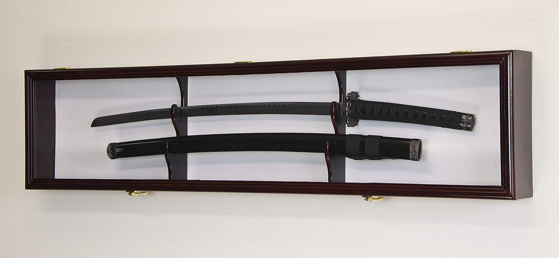 sfDisplay.com,LLC. Estuche para exhibición de Armario con Espada única y estantería de Pared, Colores Personalizados – con Cerradura: Amazon.es: Juguetes y juegos