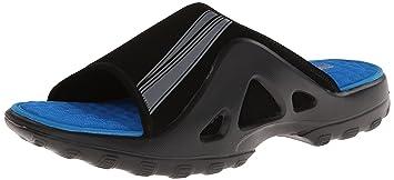 sckechers pantofola scarpa ciabatta estiva da uomo nero ...