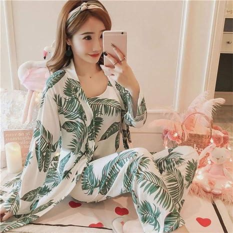 3 Pijamas para Mujer Primavera y Verano Muebles para el hogar ...