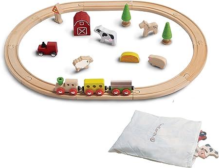 EverEarth - Kit de ferrocarril Granja (EE33590): Amazon.es: Juguetes y juegos