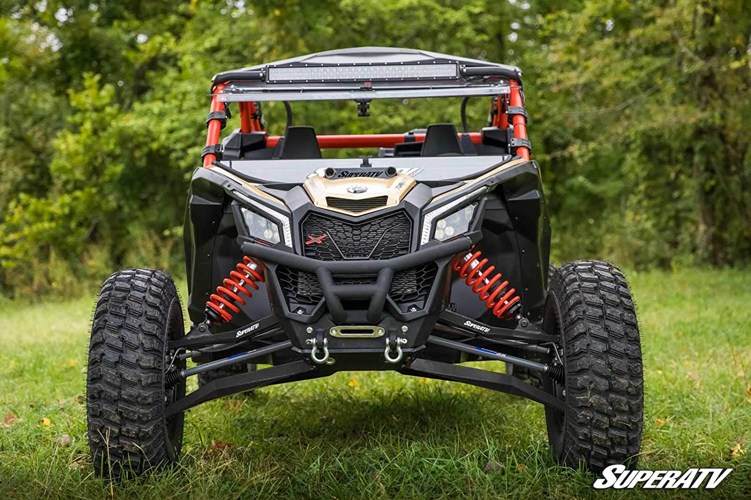 Amazon.com: SuperATV Heavy Duty High Clearance Boxed Front A-Arms for 72