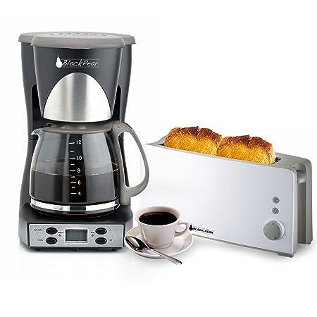 Cafetera programable 12 tazas + rejilla pan 1 larga ...