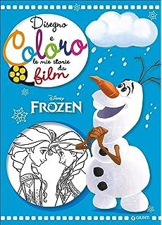 Amazon It Frozen Libro Da Colorare Questo Incantevole A4 60 Pagina