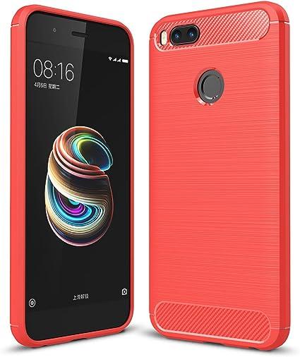 XiaoMi MI A1 Funda, SMTR Cubierta Delgado material de silicona ...