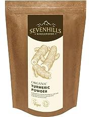 Sevenhills Wholefoods Organic Raw Turmeric (Curcumin) Powder 1kg