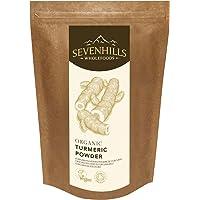 Sevenhills Wholefoods Polvere Di Curcuma Crudo Biologico 500g