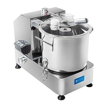 Royal Catering - RCKC-6000 - Picadora trituradora - Velocidad de rotación progresivamente regulable entre