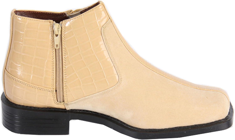 Hugo Vitelli Mens Dress Shoes Taupe E3001