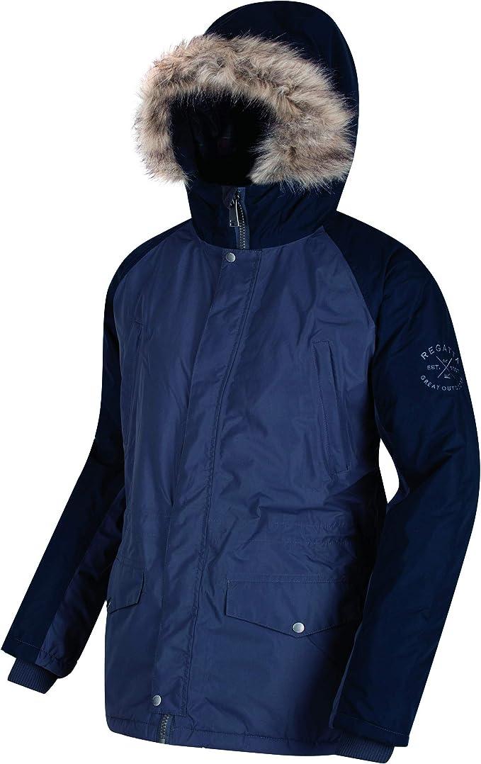 Regatta Men/'s Thornhill Padded Insulated Waterproof Jacket Navy Blue