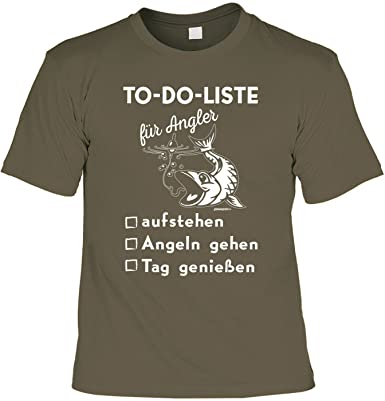 Angler Sprüche Shirt   Lustiges T Shirt   Motiv Angelsport/Angeln : To