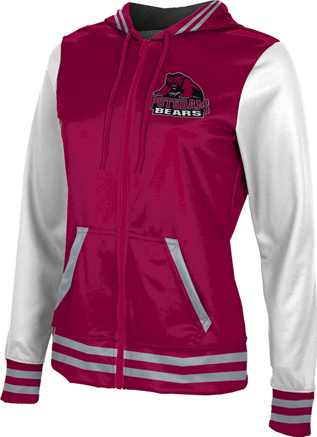 Women's State University of New York at Potsdam Letterman Fullzip Hoodie