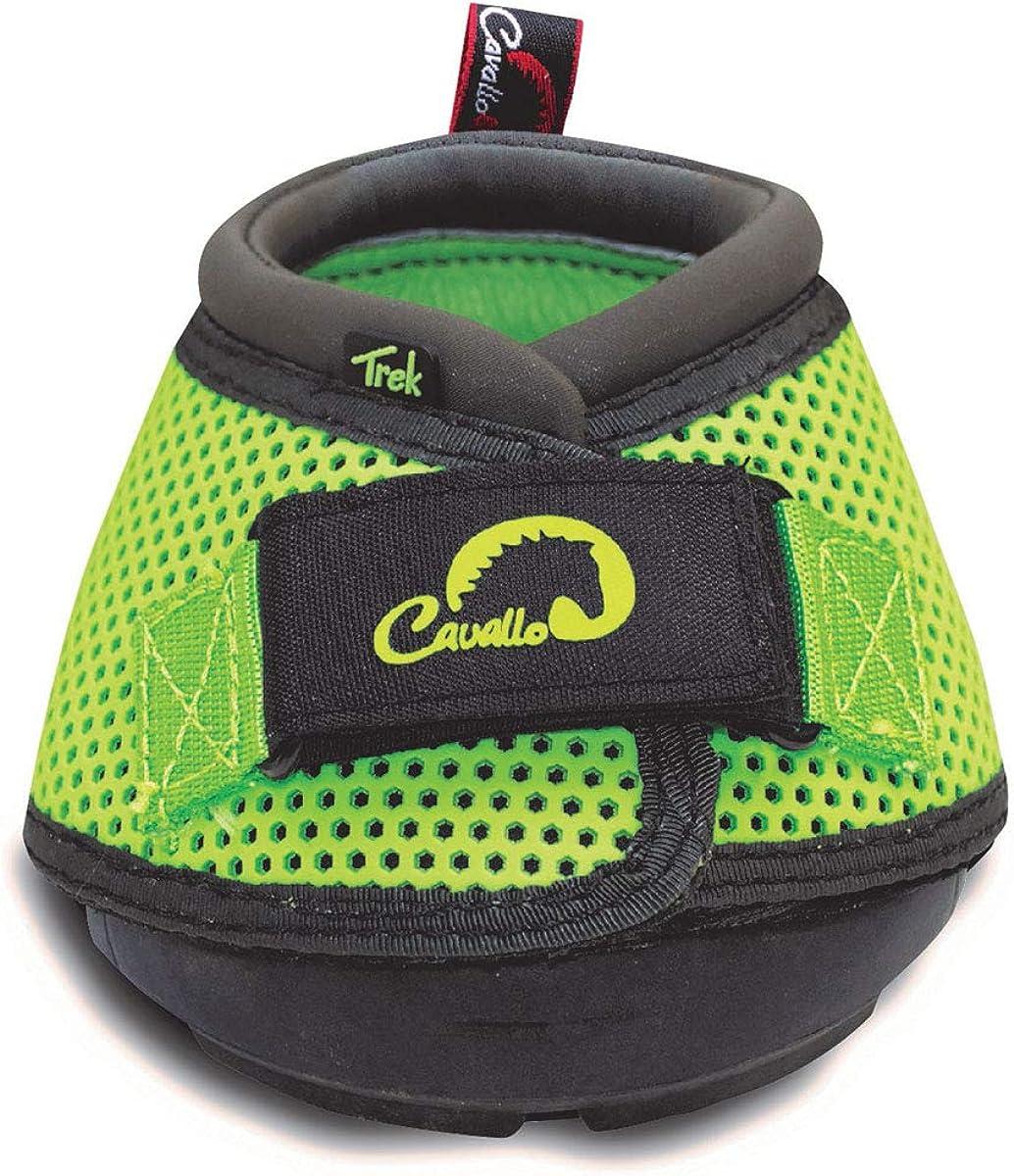 Cavallo - Zapato de suela regular con cierre adhesivo modelo Trek para caballo