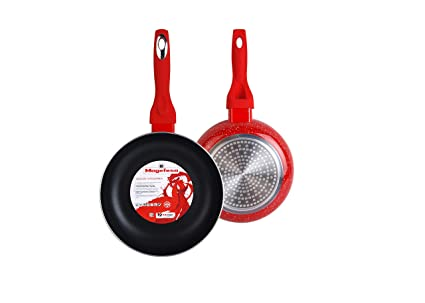 Amazon.com: Magefesa Crimson Set of Frying Pans 20 Ø 24 cm ...