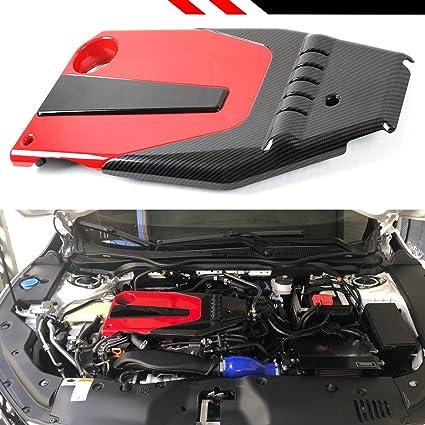Amazon.com: JDM RED BLACK TYPE-R STYLE ENGINE VALVE COVER FOR 2016-18 10TH GEN HONDA CIVIC: Automotive
