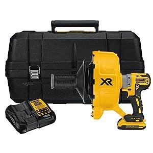 DEWALT DCD200D120V MAX XR Brushless Drain Snake Kit
