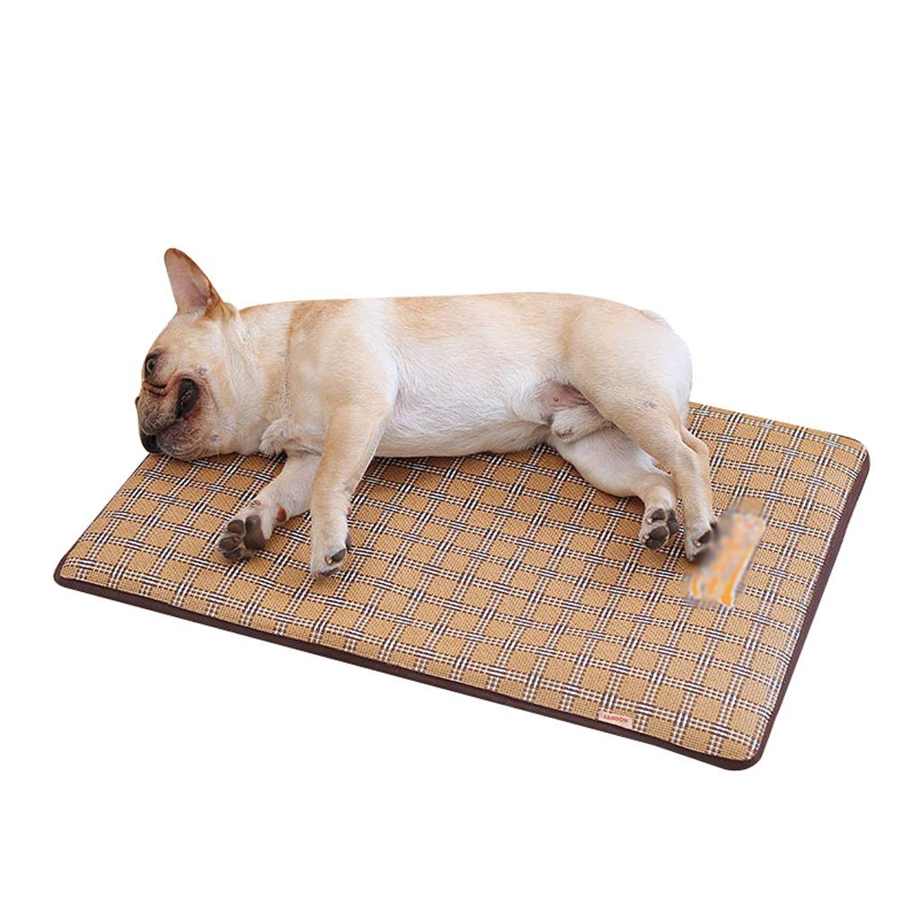 JINGB Pet Mat Cool Down Pet Sleeping Pad Pet Waterloo Cat Nest Kennel Can Not Be Removed for Cleaning Summer Dog Mat