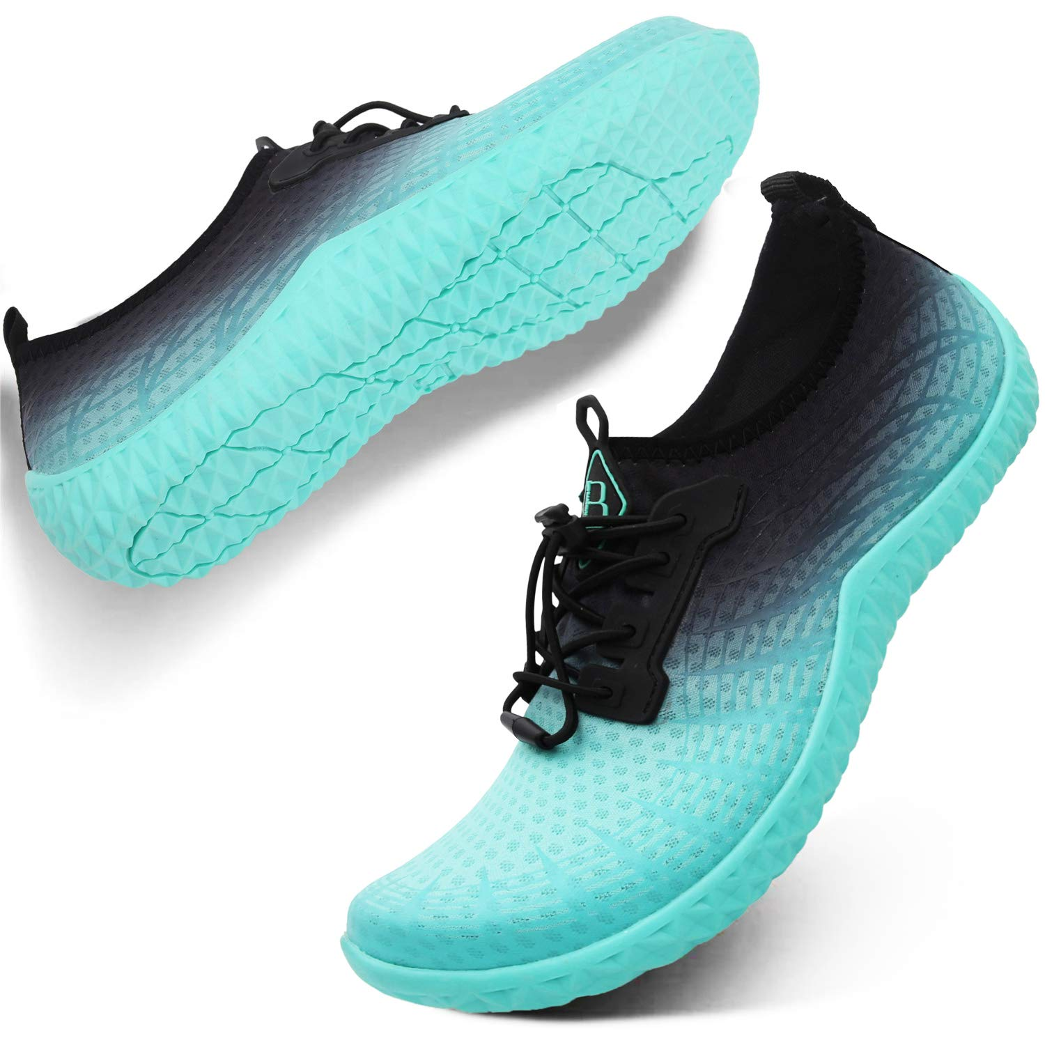 Spesoul Womens Mens Water Sports Shoes Outdoor Quick Dry Barefoot Athletic Aqua Shoe for Beach Swim Pool Surf Diving Yoga 8 Women by Spesoul