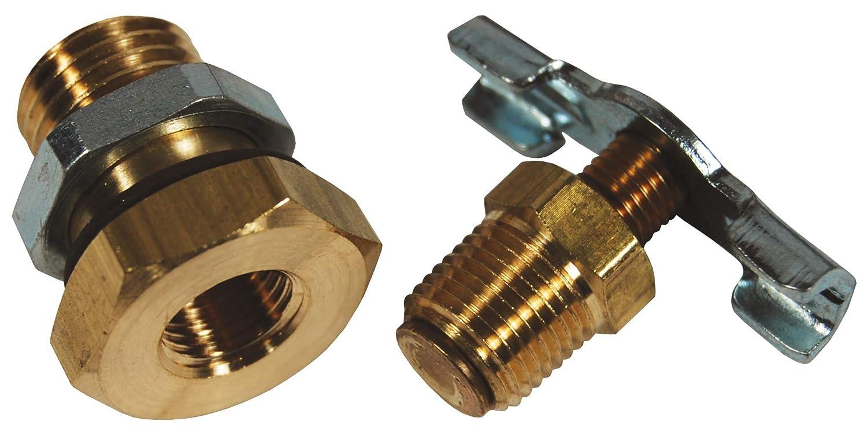 Dixon GRP-95-182 Wilkerson Manual Petcock Drain for F16,26,30 L16,26,30,40,50,M16,26,30,CB6, Metal