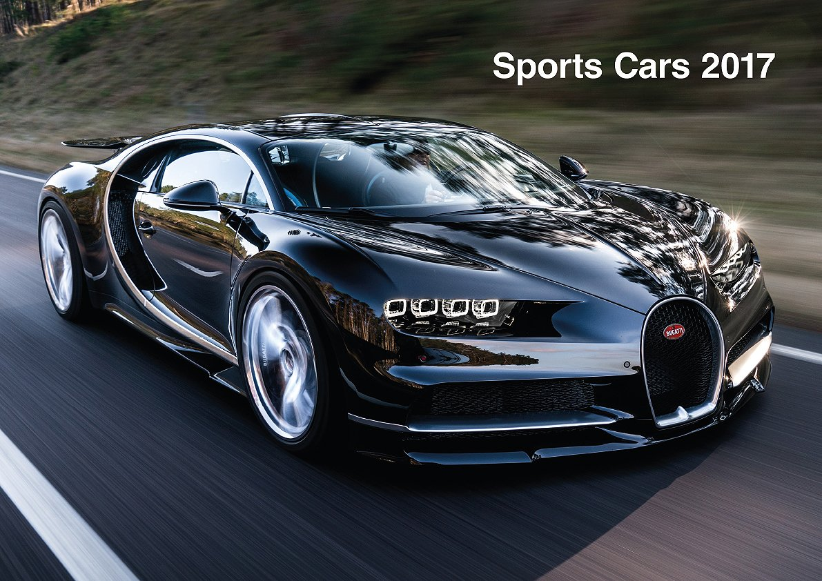 Sports Cars Calendar ML Publishing Group - 2017 sports cars