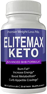 Elite Max Keto Weight Loss Pills Advance Weight Loss Supplement Appetite Suppressant Natural Ketogenic 800 mg