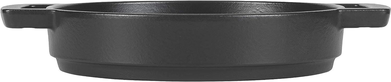 Combekk 102124DG Double Handle 24 cm Dark Grey Fry Pan Cast Iron