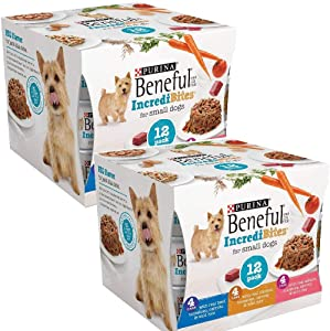 Beneful IncrediBites (Beef, Chicken, Salmon Variety Pack) - Wet Dog Food - 3oz cans