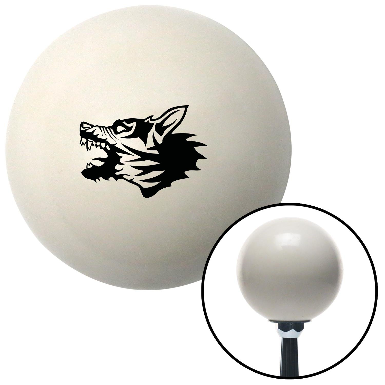 Black Angry Dog American Shifter 75968 Ivory Shift Knob with M16 x 1.5 Insert