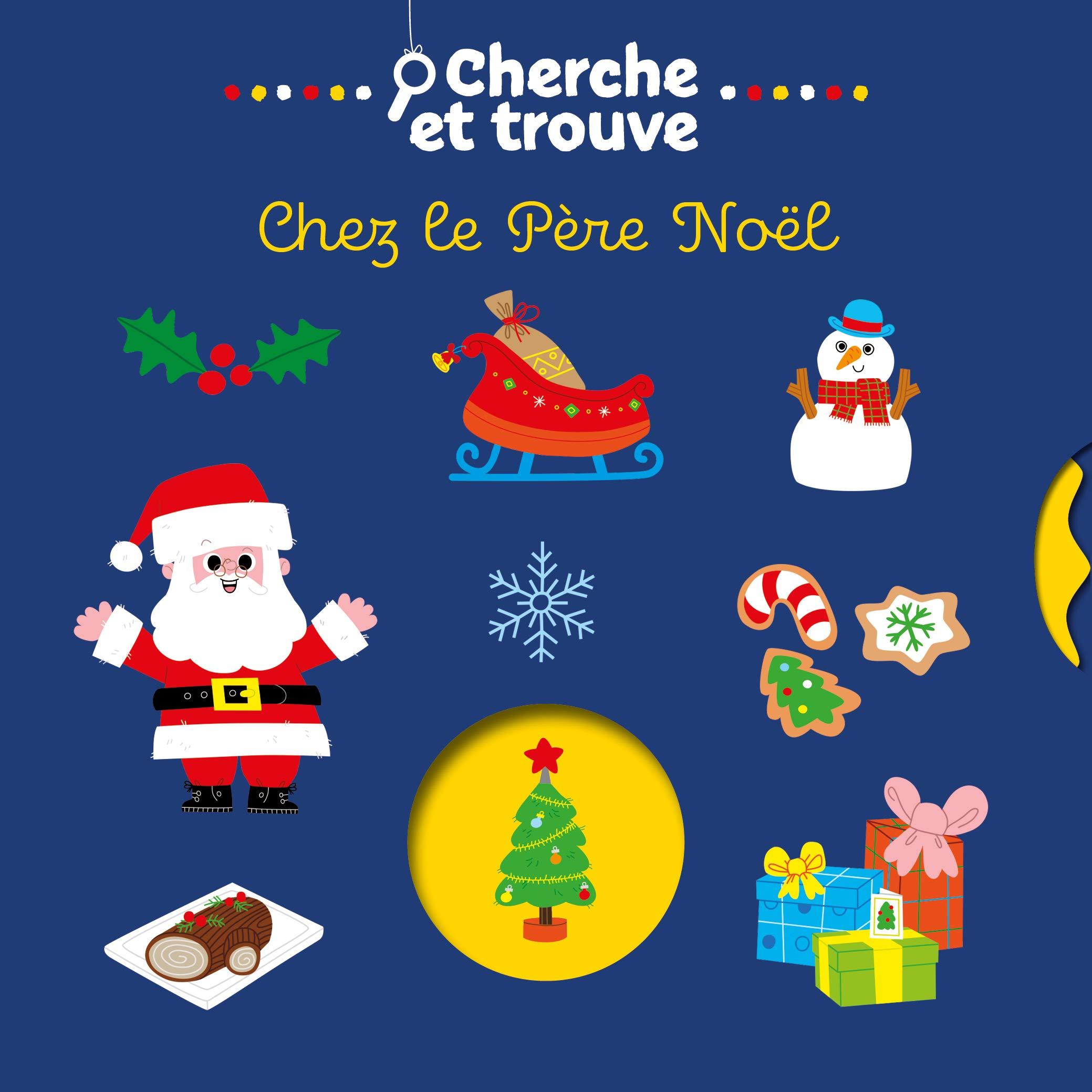 Vive Noel Cherche et trouve   Vive Noël ! (Cherche et trouve animé) (French