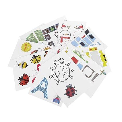 Amazon.com: fellibay impresora 3d papel de dibujo papel de ...