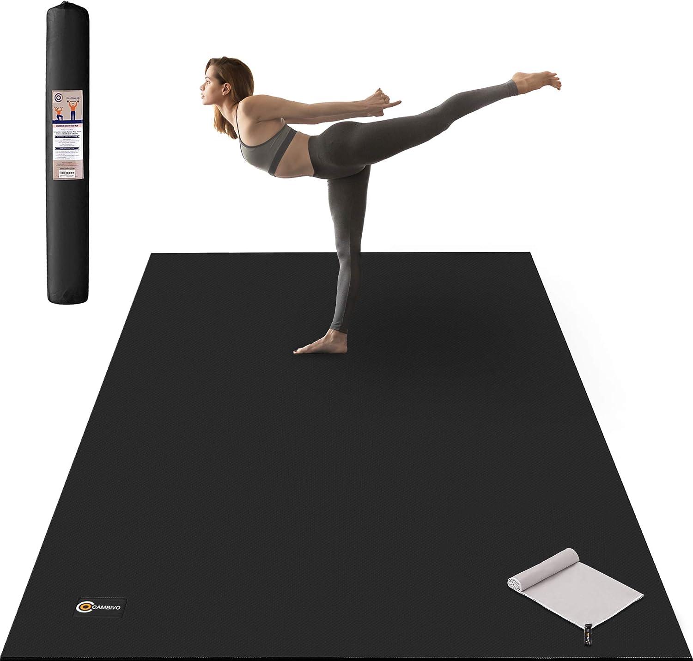 Yoga Mat Gym Exercise Fitness Physio Pilates Soft Mats Non Slip Mat Workout Mat