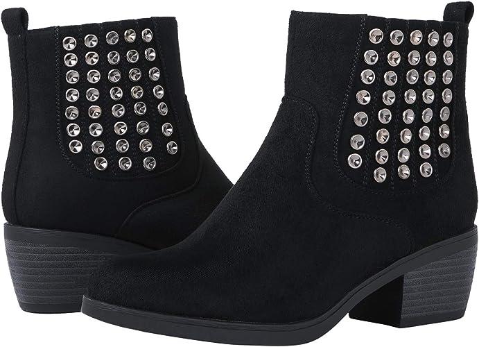 GLOBALWIN Women's 18YY08 Black Fashion Boots 8M