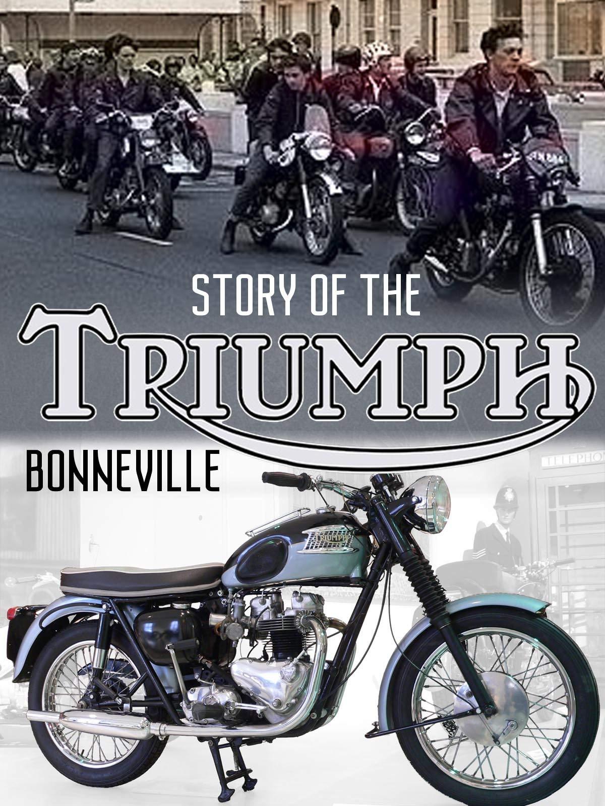 Story of the Triumph Bonneville on Amazon Prime Video UK