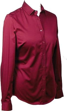 Marks & Spencer - Camisas - Para Mujer Rojo Granate 46 ...