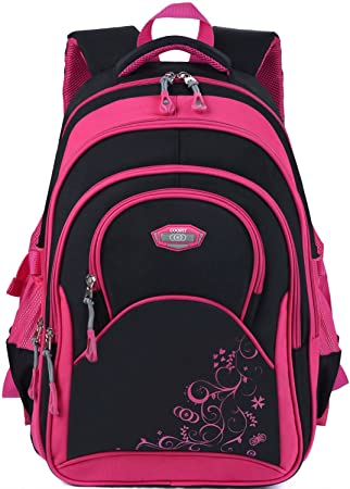 Rolling Backpack COOFIT Wheeled Backpack School Kids Rolling Backpack With Wheels